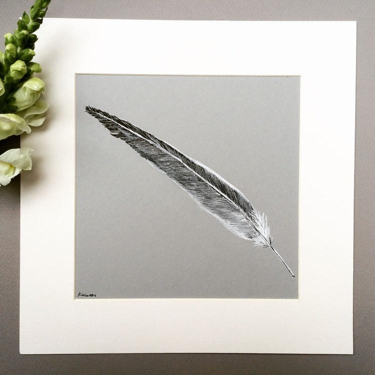 Feather, Grey - Image 0
