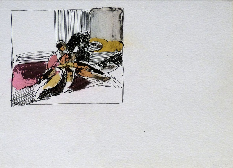 Metadrawing 86, 25x18 cm - Image 0