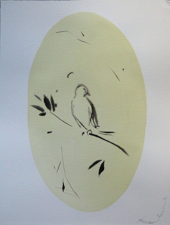 Birds of Carros #32, 31x41 cm - Image 0
