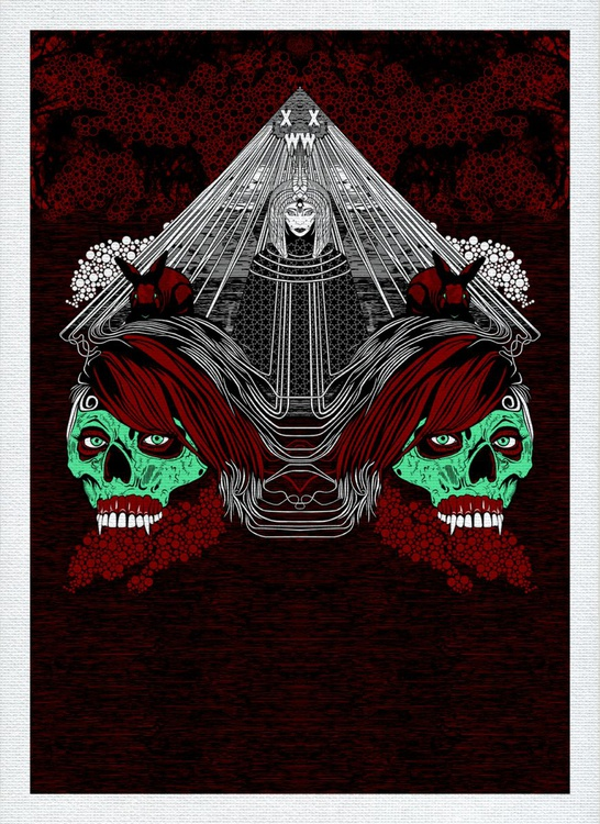 "XWWX - House of Muman (House of Magi) ""Blood Spearmint"" - Image 0"