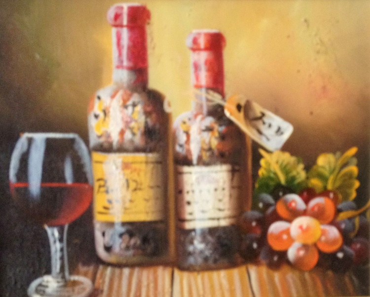 Bottle of wine - Image 0