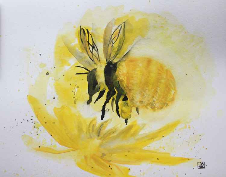 Great Yellow Bumblebee -