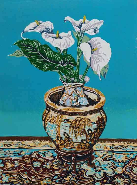 Arum Lillies -