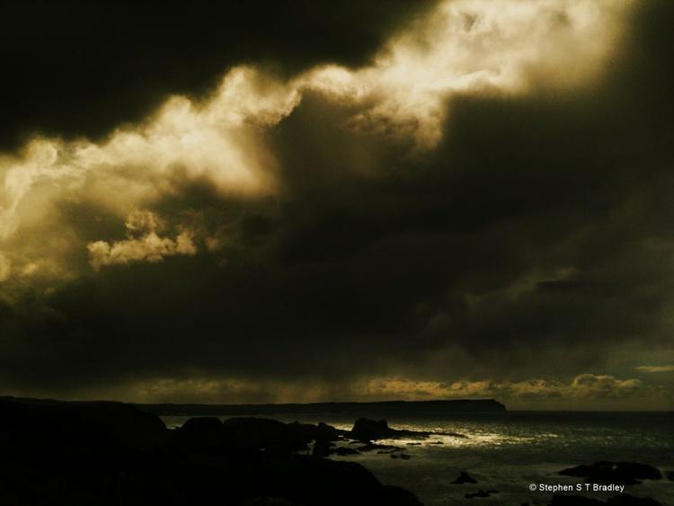 Ballintoy Northern Ireland landscape - fine art landscape photograph of Ireland. - Image 0