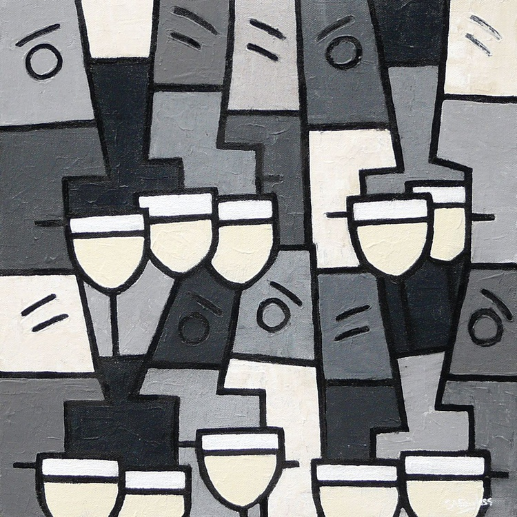 White Wine with Friends - Image 0