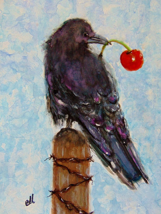 Lucky crow.. - Image 0