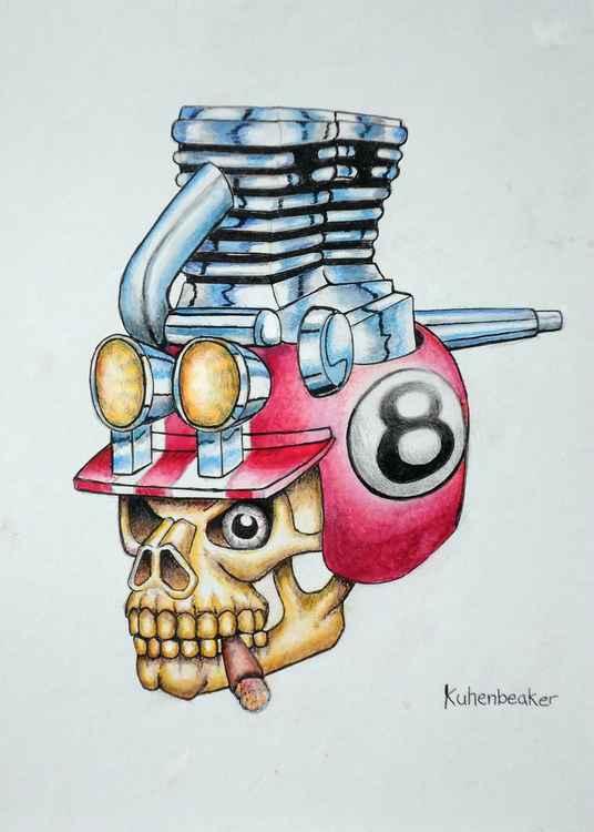 Moto Skull 2