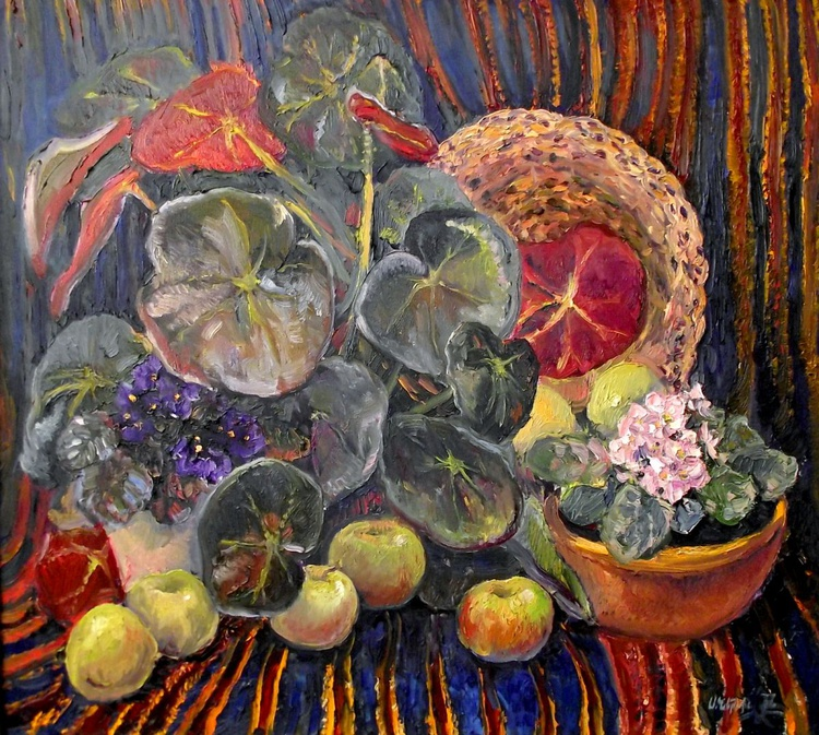 Still Life with Begonia - Image 0
