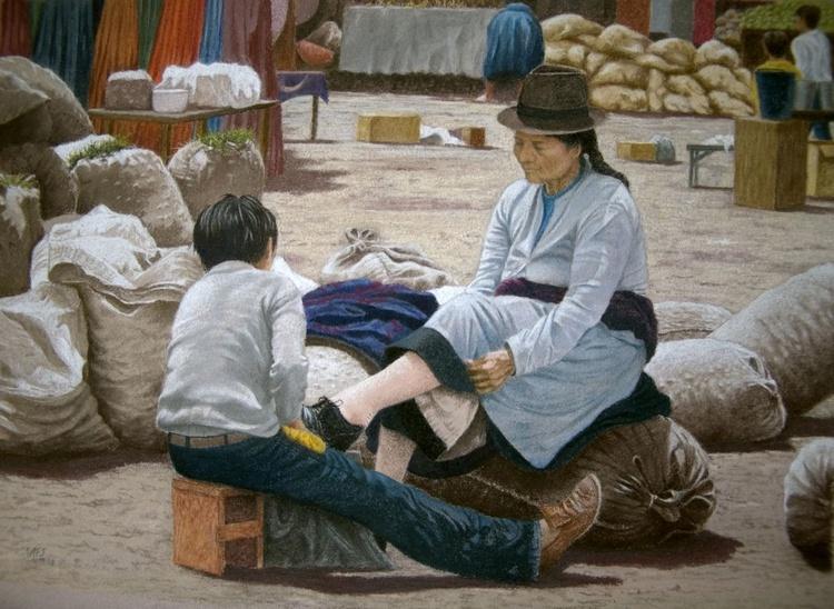 Shoeshine boy - Image 0