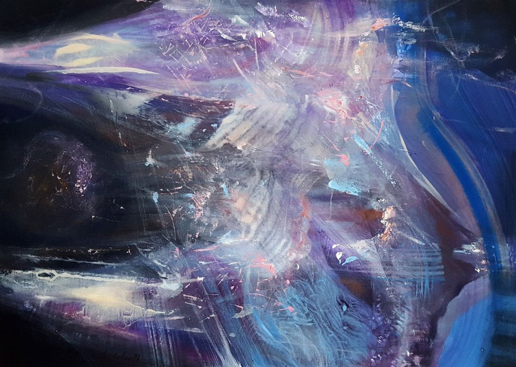For the love of traveling alone III oneiric  abstract light dreamscape dreamlike fantastic harmony - Image 0