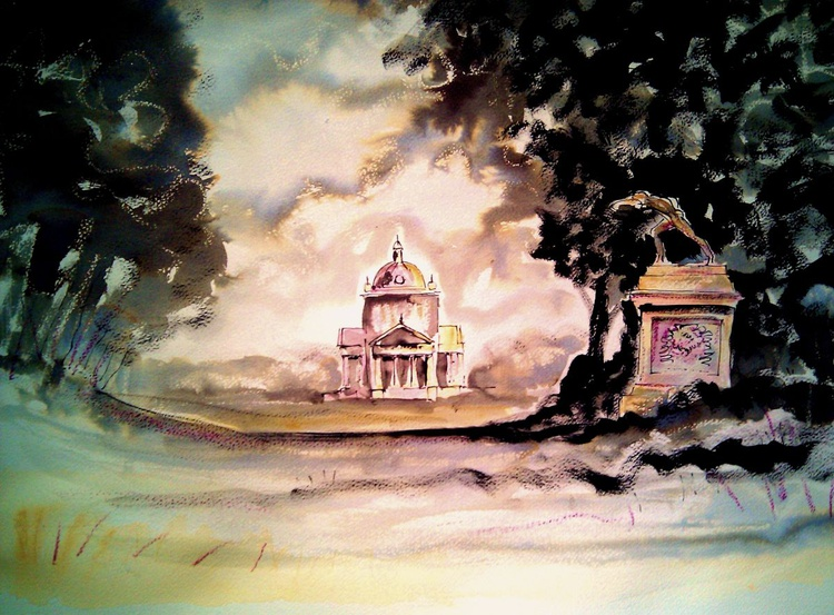 'Temple of the Four Winds - Castle Howard' - Image 0