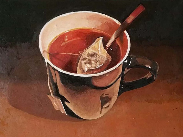 A cup of tea - Image 0