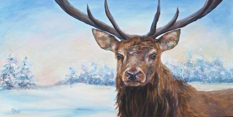 Snow Deer - Image 0