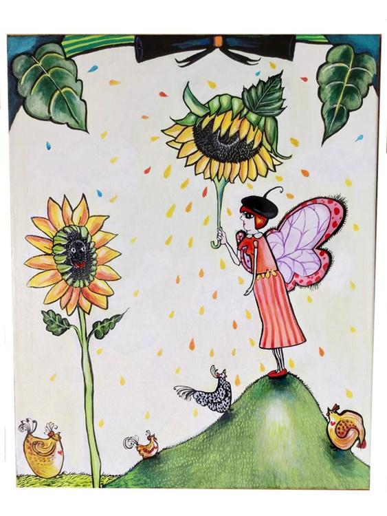 Sunflower Umbrella - Image 0