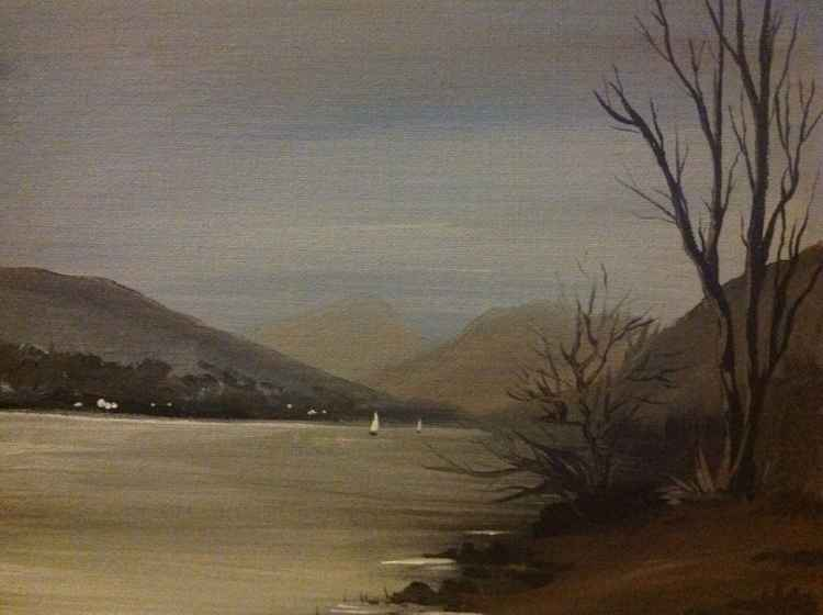 Loch Lomond  from Tarbet -