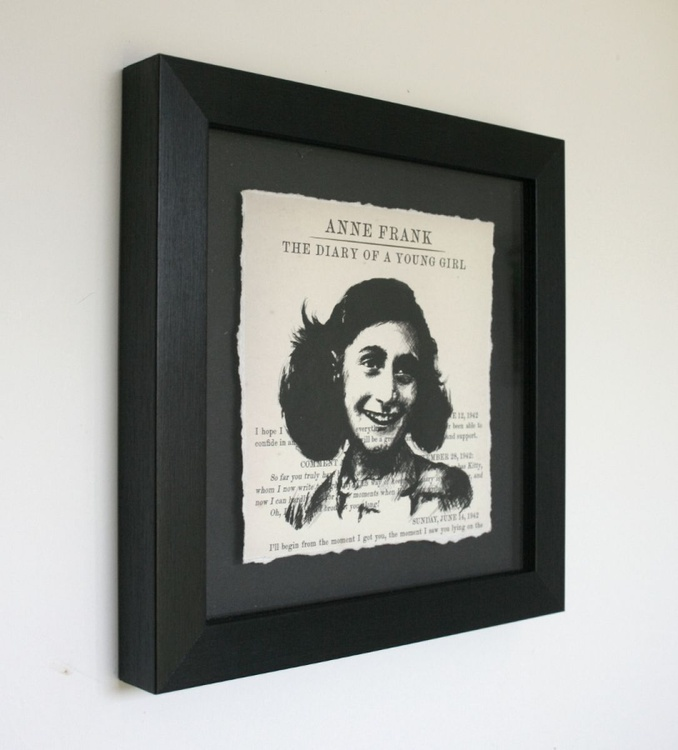 Anne Frank - The Diary of a Young Girl (Framed) - Image 0