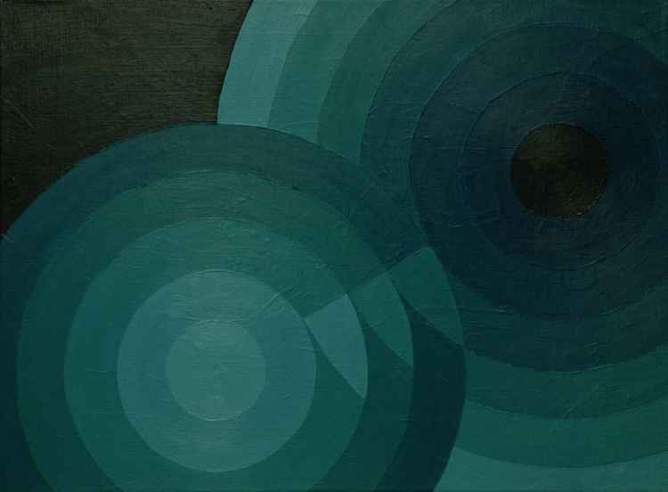 Geometric 003 (5+7 circles, 3 centimetres, 30 degrees)