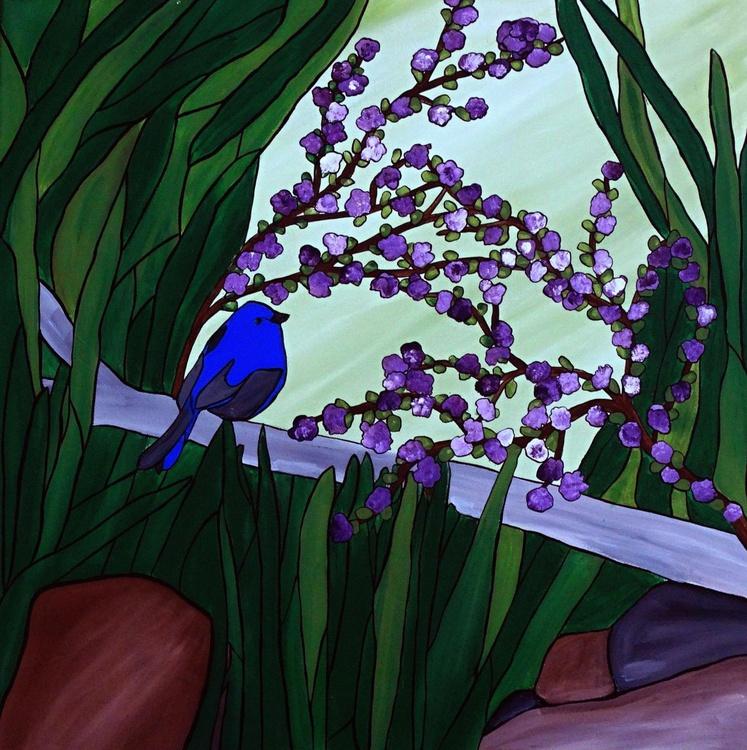 Little Blue bird - Image 0