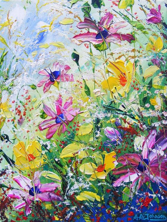 """Floral art - """"Solace"""" - Image 0"""