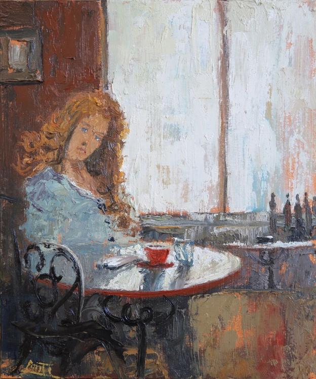 Morning Coffee, Emily - Image 0
