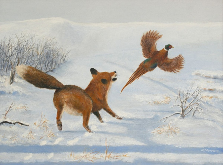 Fox and Pheasant - Image 0
