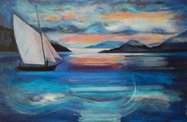 Sunset sail, Loch Nevis - Image 0
