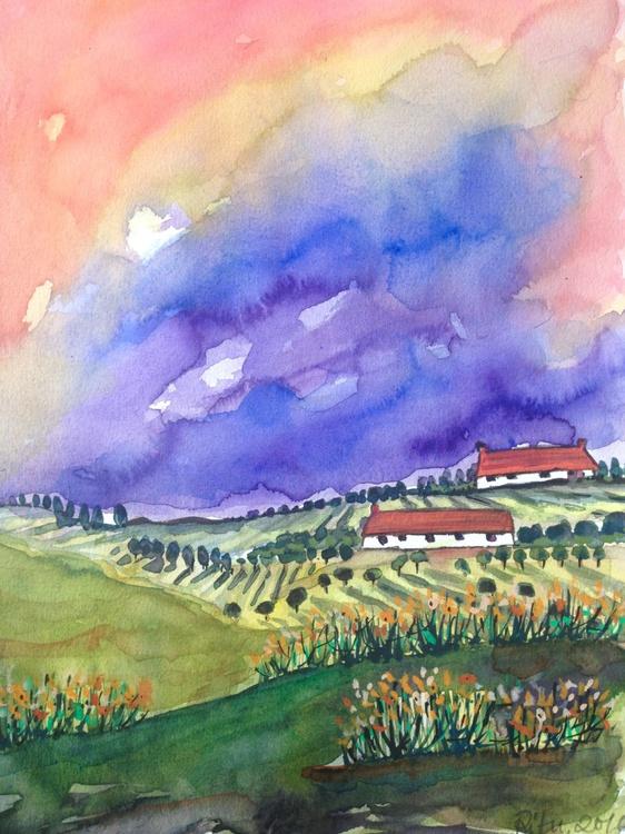 Farmlands in summer - Image 0