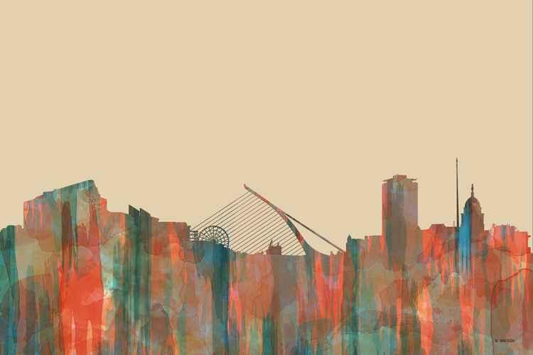 Dublin Ireland Skyline - Navaho -