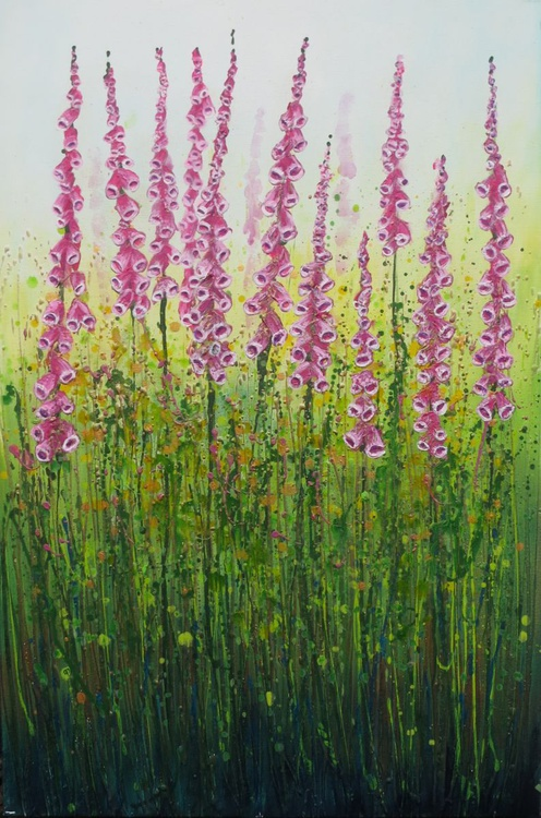 Pink Foxgloves - Image 0