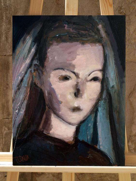 The young bride ~ woman portrait, figure study - Image 0