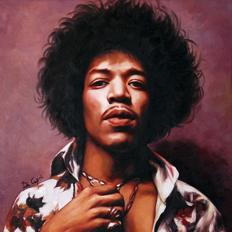 Jimi Hendrix Portrait - Image 0