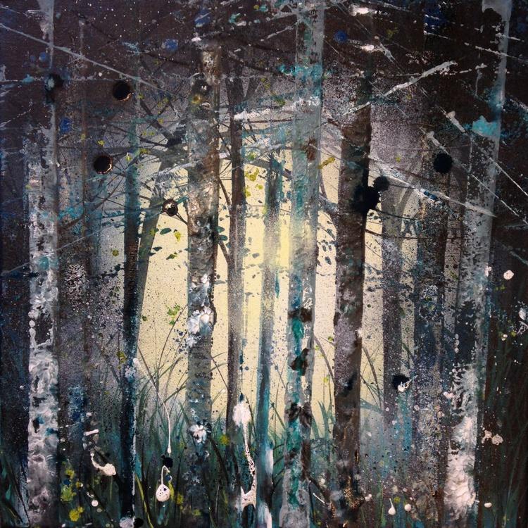 Teal trees - Image 0