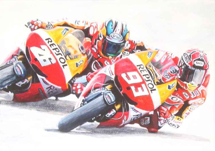 Marquez and Pedrosa - Repsol Honda (2014) -