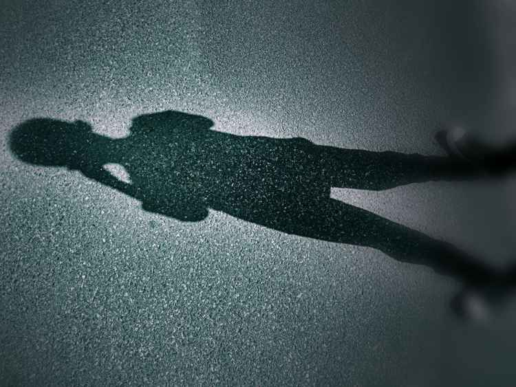 Funny Shadow (2016) - Premium Poster Print - 80 x 60 cm - FREE SHIPPING -