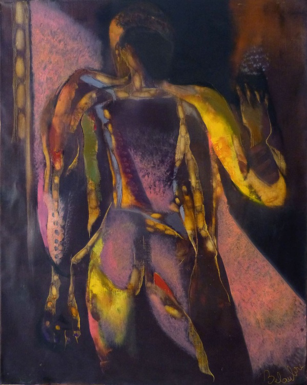 Opalescence, oil on canvas 92x73 cm - Image 0