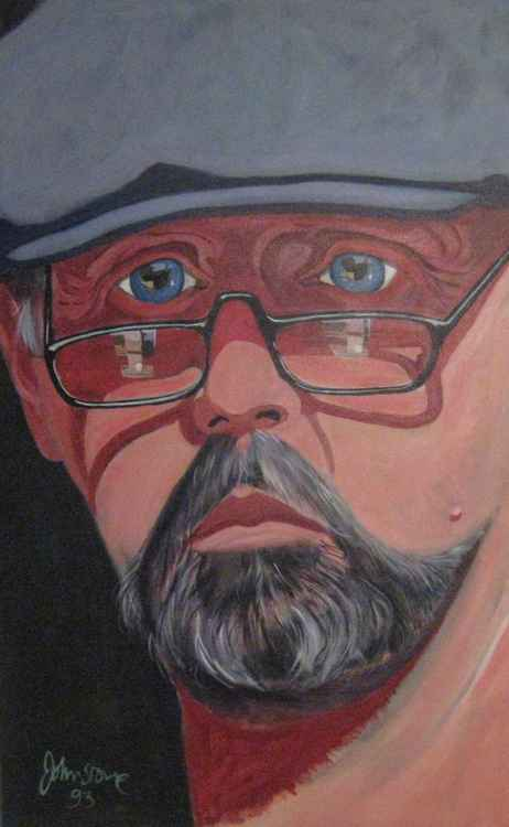 Self Portrait in a Cloth Cap -