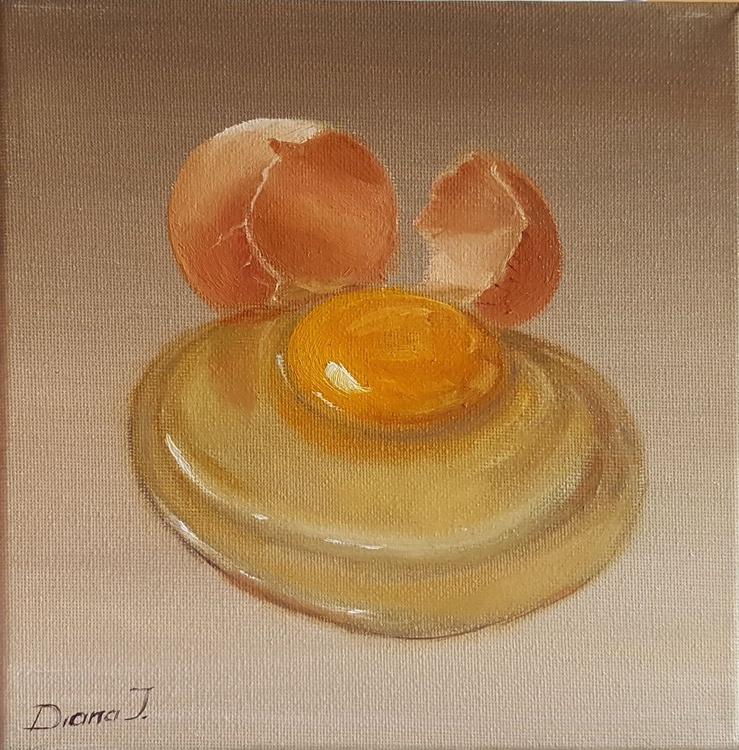 A broken egg - Image 0