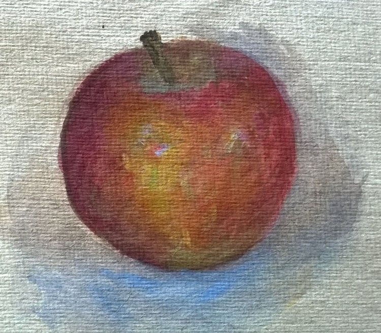 Still Life with Apple - Image 0