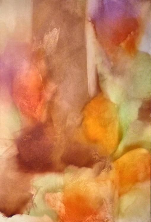 Oil on canvas #14 (Chameleon) 130x89 cm - Image 0