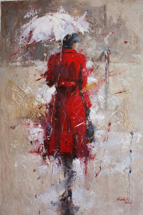 """""""The girl in the red coat"""" for FREE SHIPPING. - Image 0"""