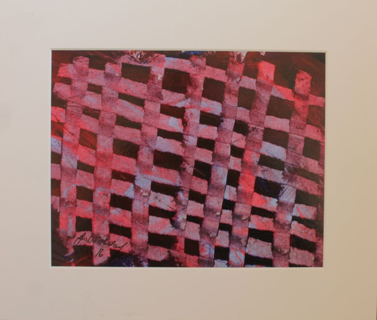 Weave (red and blue) - Image 0