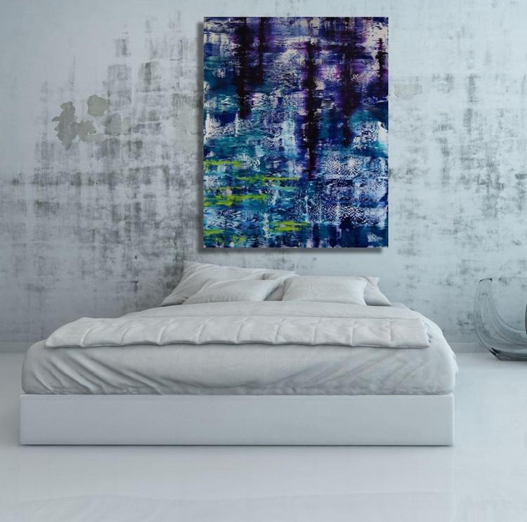 Beyond Misty Lake  (80 x 100 cm) - Image 0