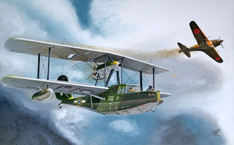 1935 Supermarine Walrus - Image 0