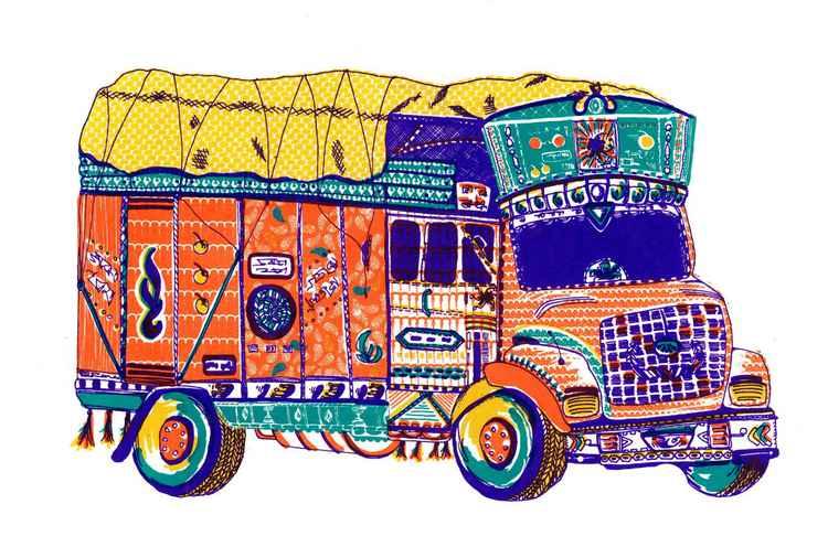 Tata truck -