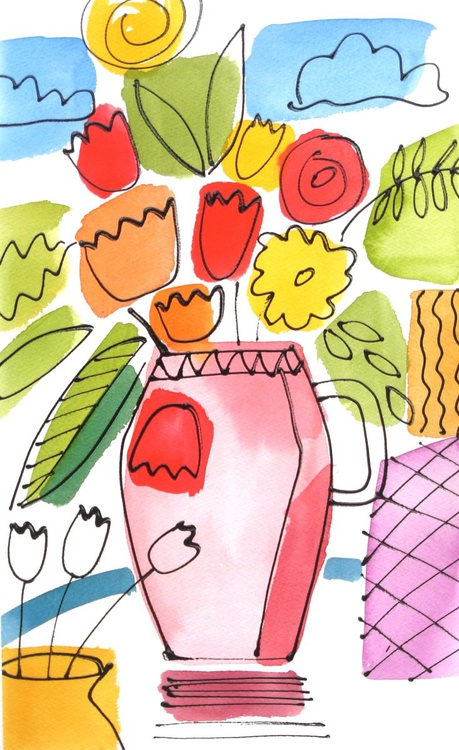 The Pink Vase - Image 0