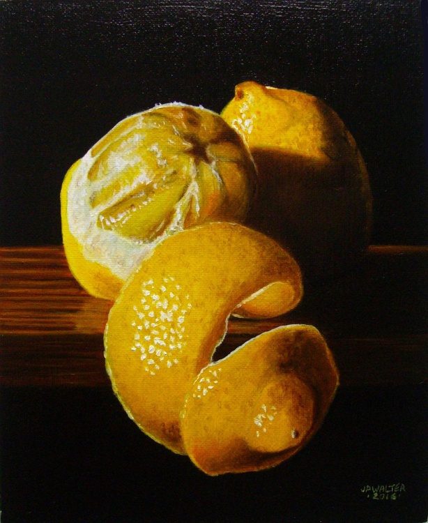 Peeled lemon n°14 / FREE SHIPPING - Image 0