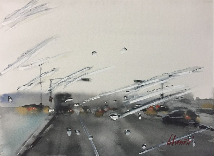 """Rainart - """"Driving way out of town"""" - Image 0"""