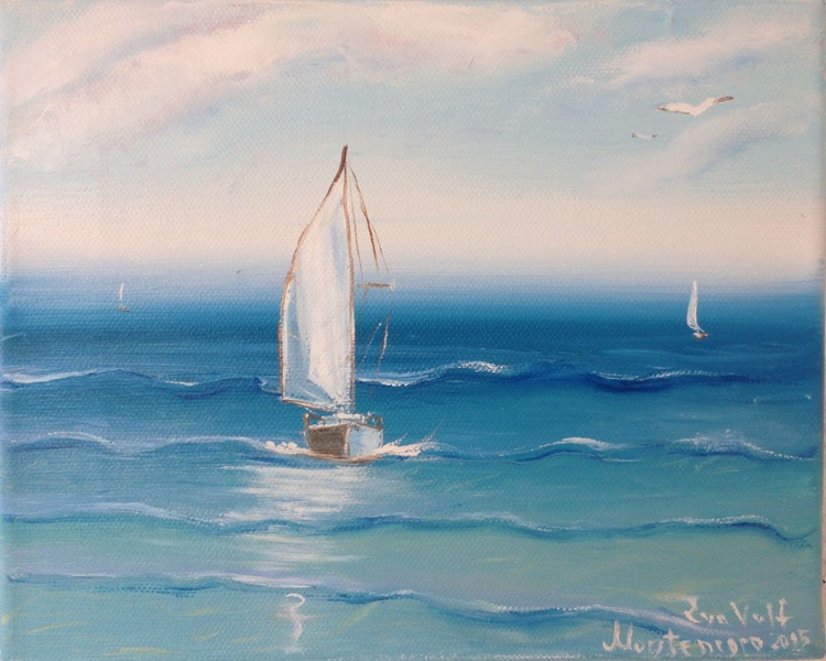 The Sailboat and the Sea 5 - Image 0