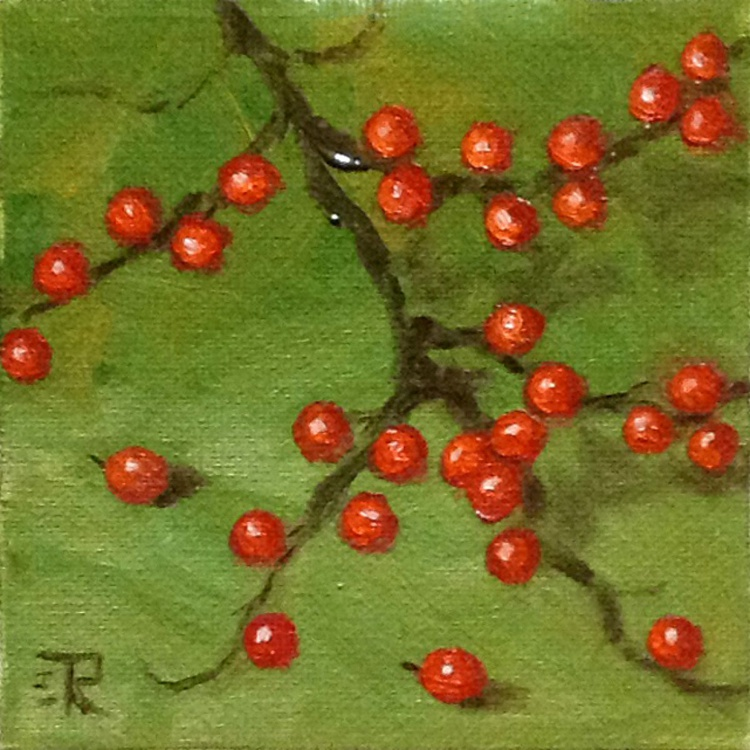 Red On Green - Image 0