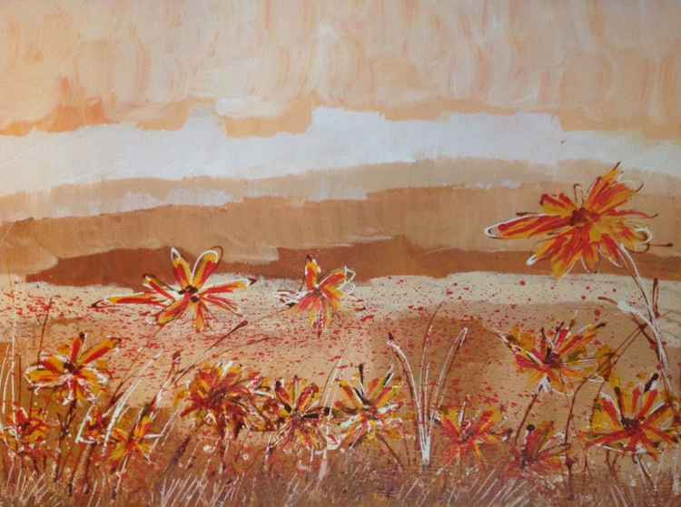 Very wild flowers -